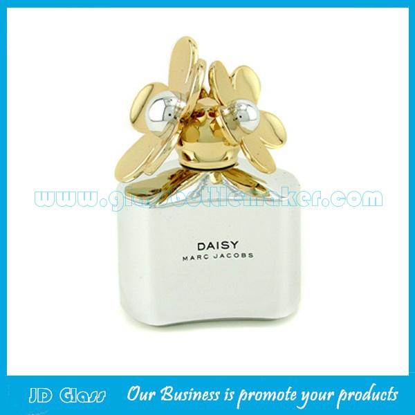 50ml Colored Glass Perfume Bottle With Cap and Sprayer