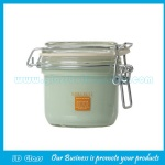 200ml Clear Glass Facial Mask Jar