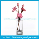 120ml Clear Glass Fragrance Bottle With Reed Rattan