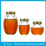 500g and 1000g Glass Honey Jars With Lids