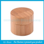 30g Bamboo Cosmetic Jars and Inner PP Jar With Bamboo Lids