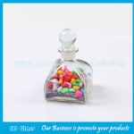 100ml Clear Aroma Diffuser Glass Bottle With Glass Cork